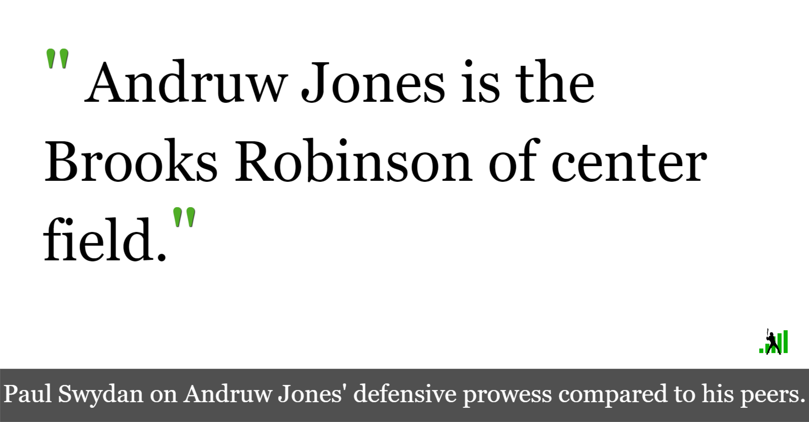 d07932dfdb In Defense of Andruw Jones' Hall of Fame Credentials | FanGraphs Baseball