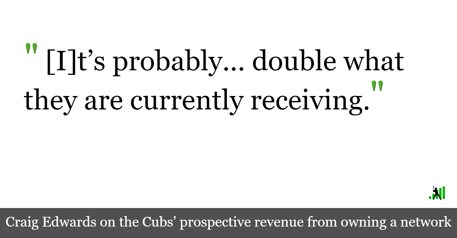 Cubs Payroll Set to Soar with Potential TV Deal