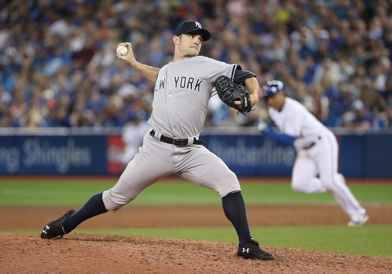 David Robertson Is the Phillies' New Right-Handed Lefty Reliever