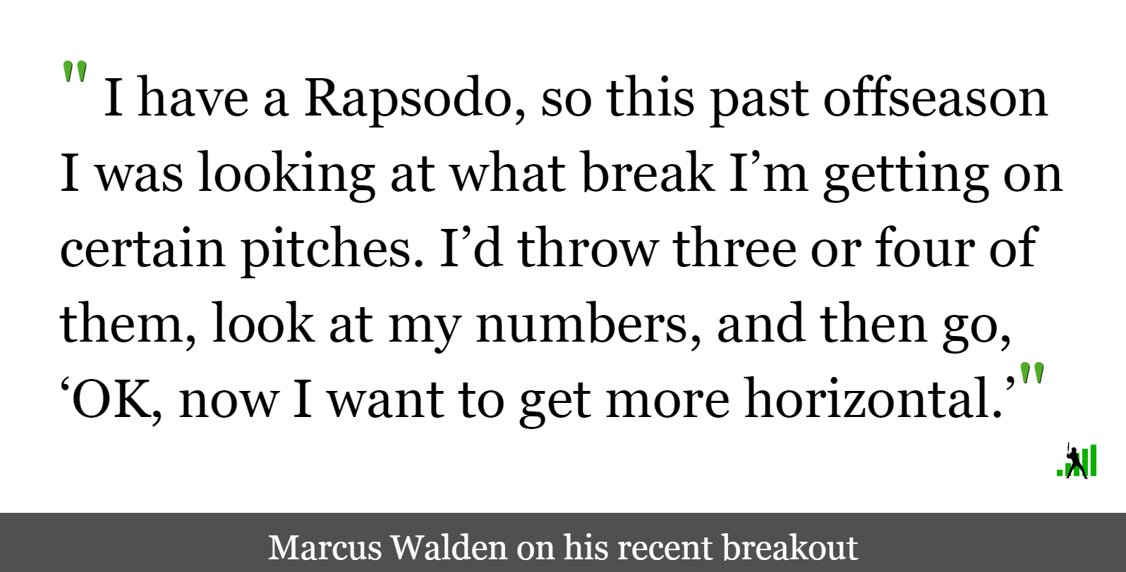 Marcus Walden on the Slider that Resurrected His Career