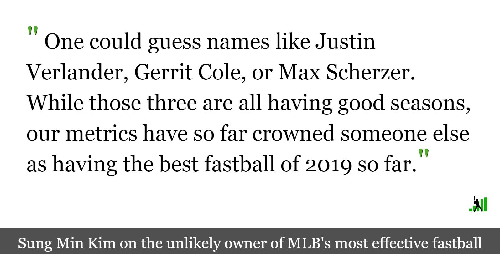 The Best Fastball of 2019   FanGraphs Baseball
