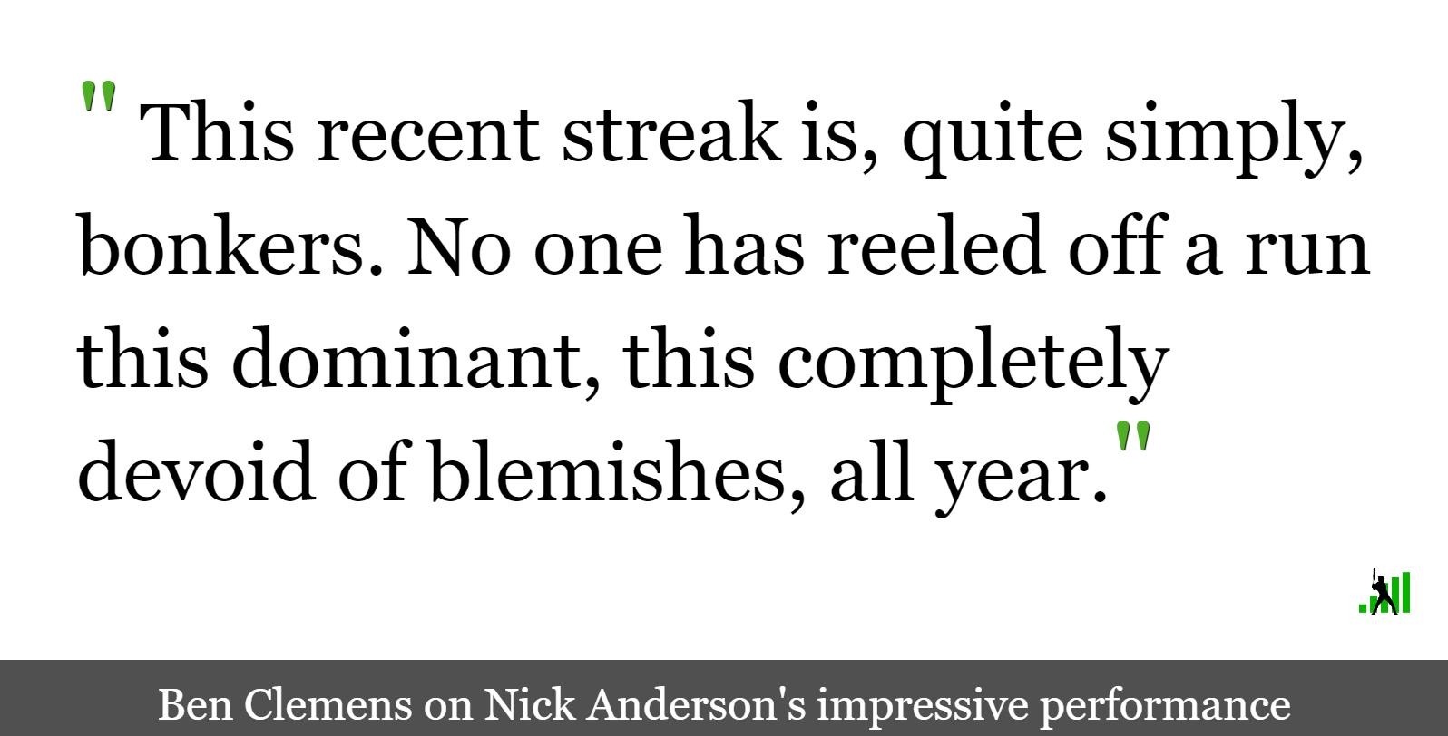Nick Anderson is Breaking Baseball