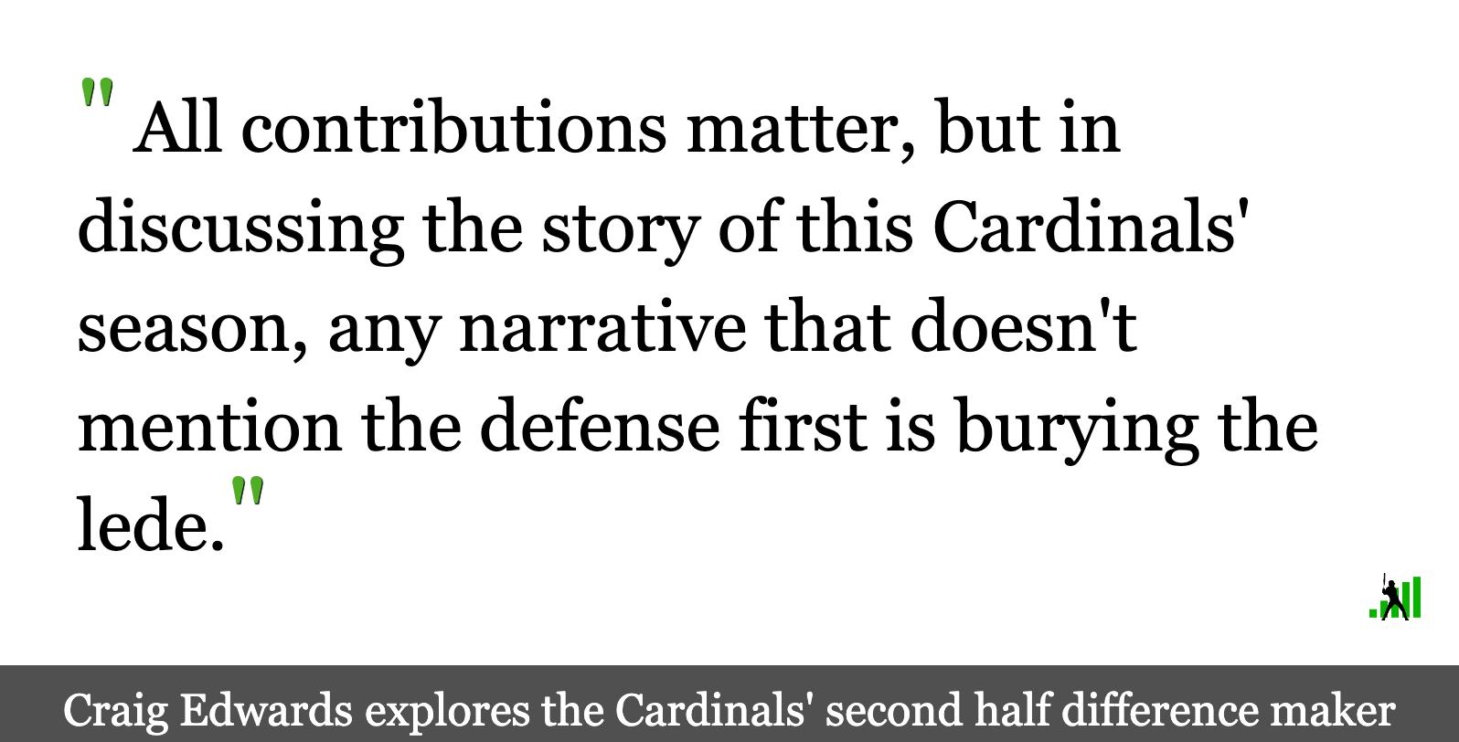 The Cardinals' Great (and Boring) Defense