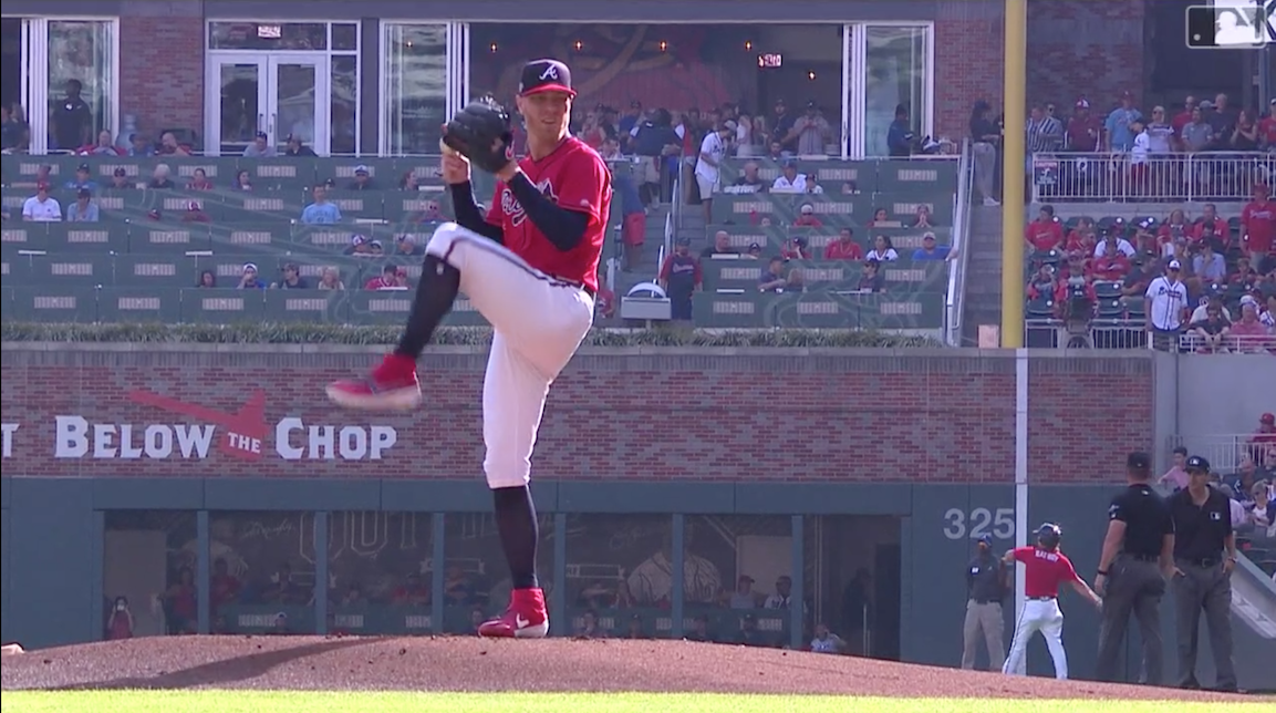 Mike Foltynewicz Takes No Prisoners in Seven Innings of Glavine-esque Pitching
