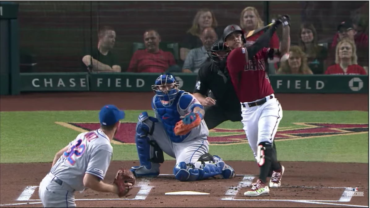 Ketel Marte Tries to Keep the Party Going