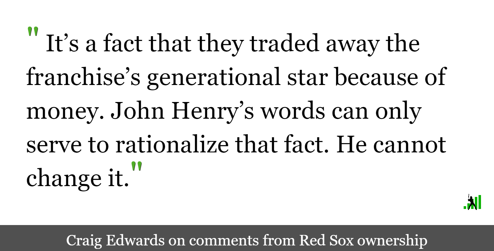 John Henry Said What?