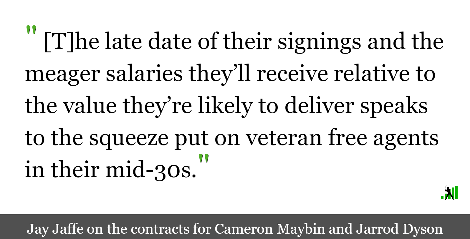 Veteran Outfielders Land Jobs With Potential Cellar Dwellers